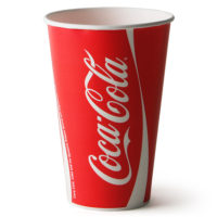 Coca-Cola Trademark Cups
